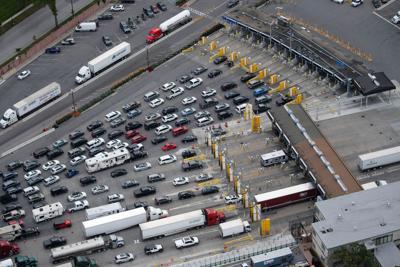Canadian border - customs