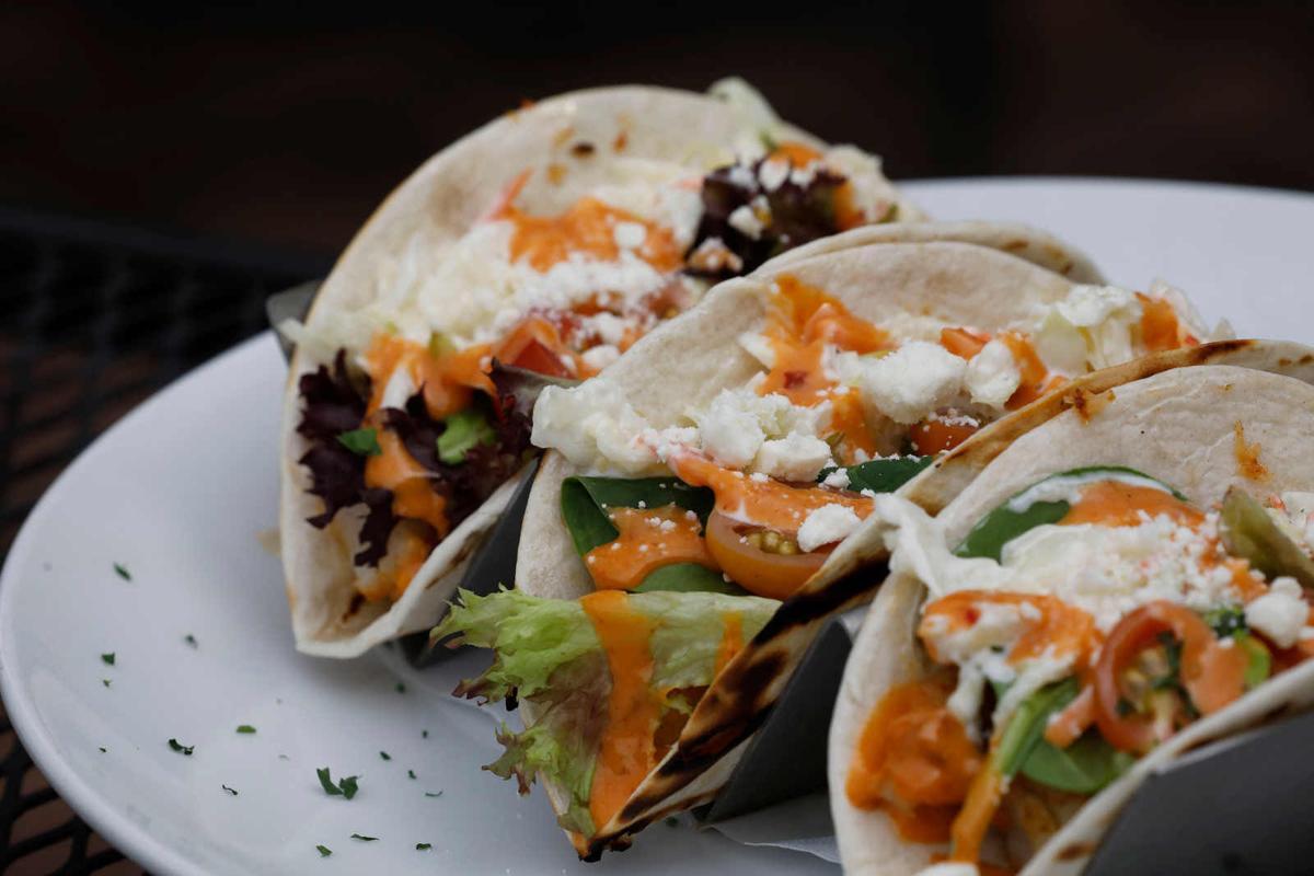 Rack of tacos at Fishtales Hideaway