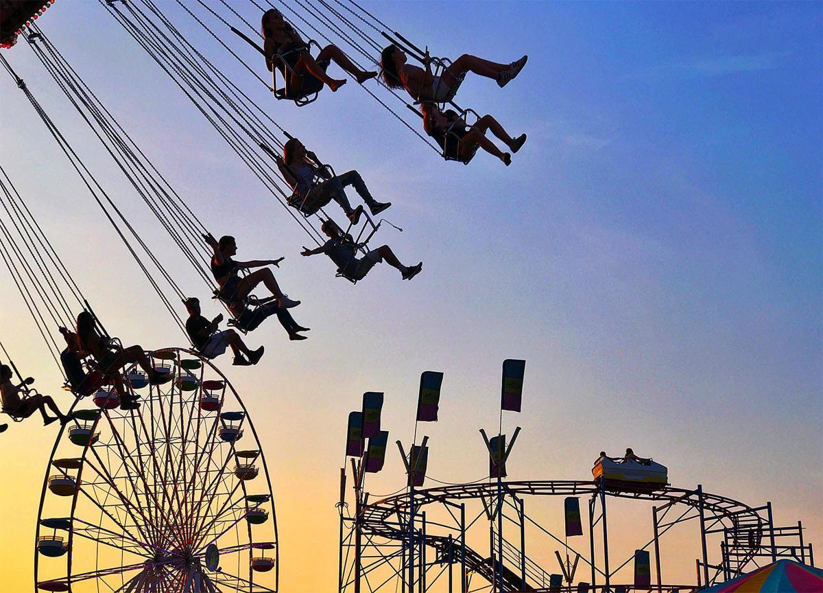Erie County fair rides