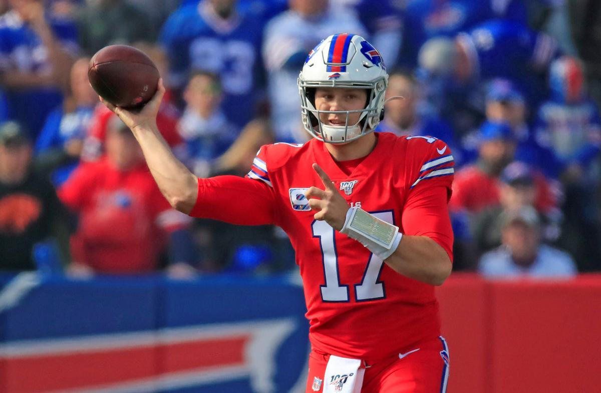 Josh-Allen-Bills-Dolphins-New Era Field-Scull
