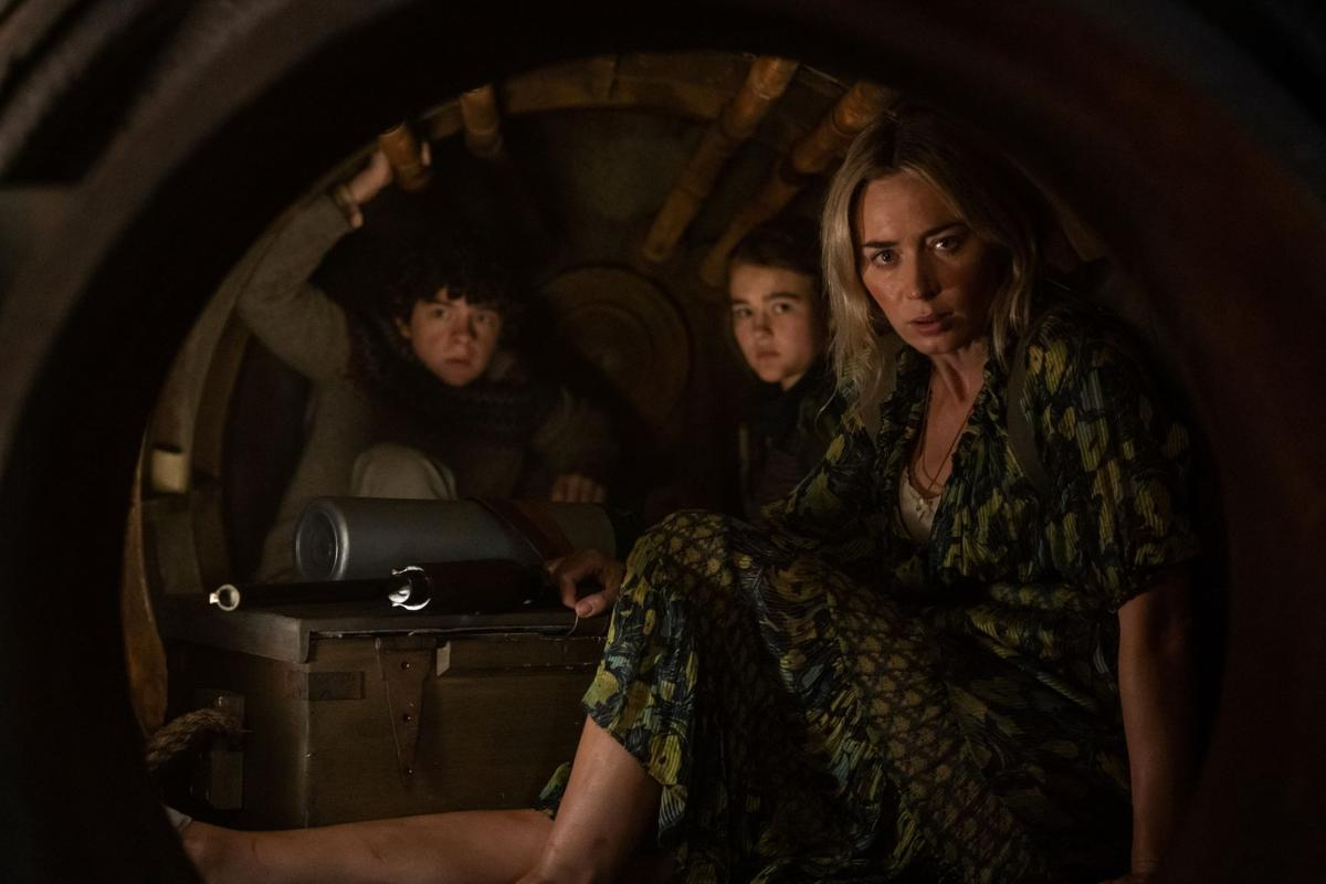A Quiet Place Part II  family