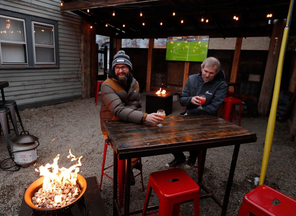 Allen Burger Venture outdoor dining (copy)