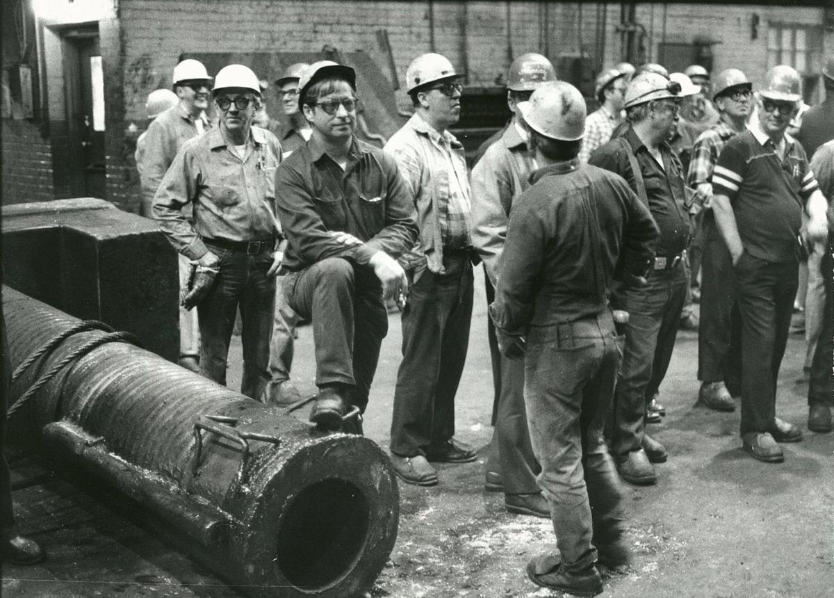 Bethlehem steel closure workers asbestos