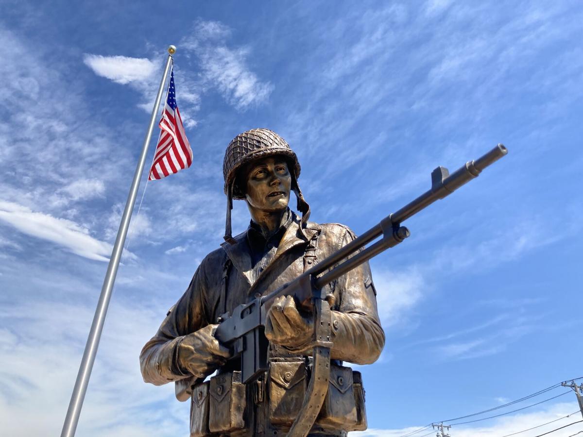 Charles DeGlopper statue