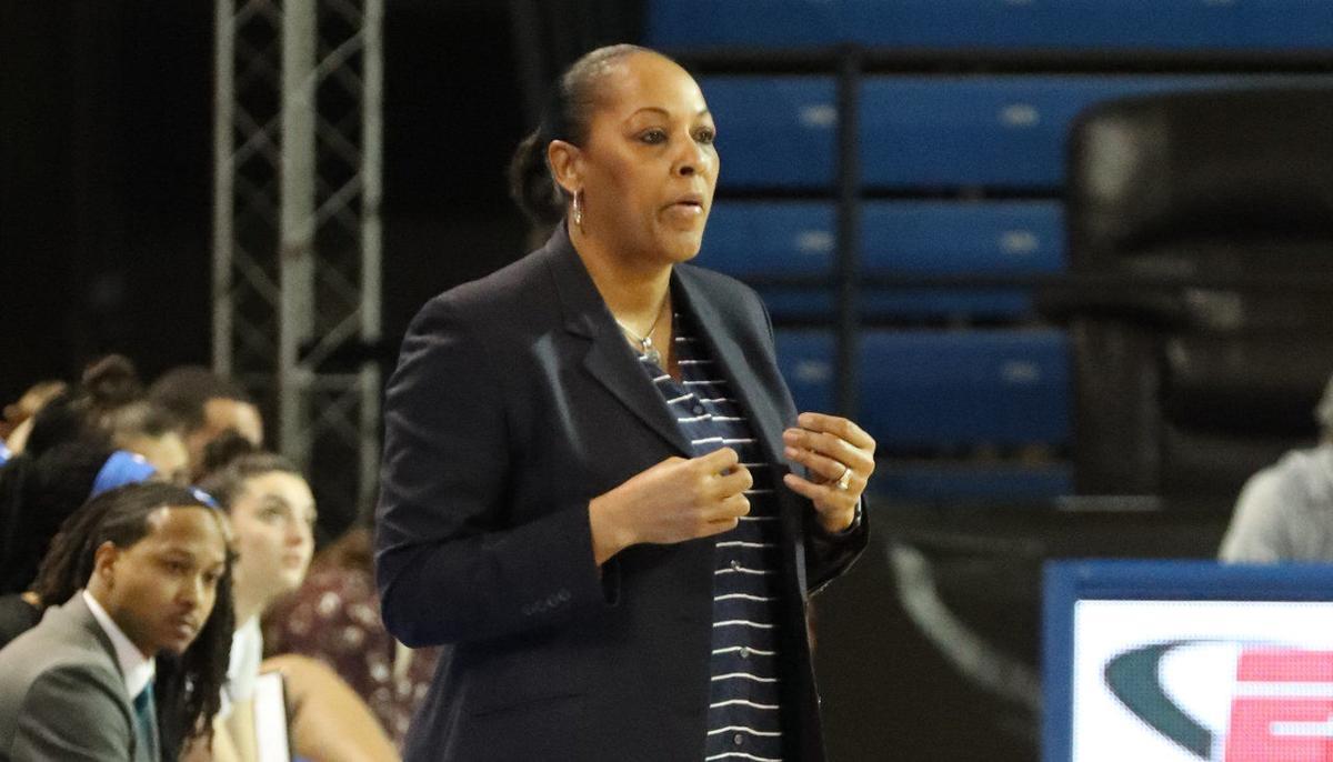 Buffalo Bulls head coach Felisha Legette-Jack