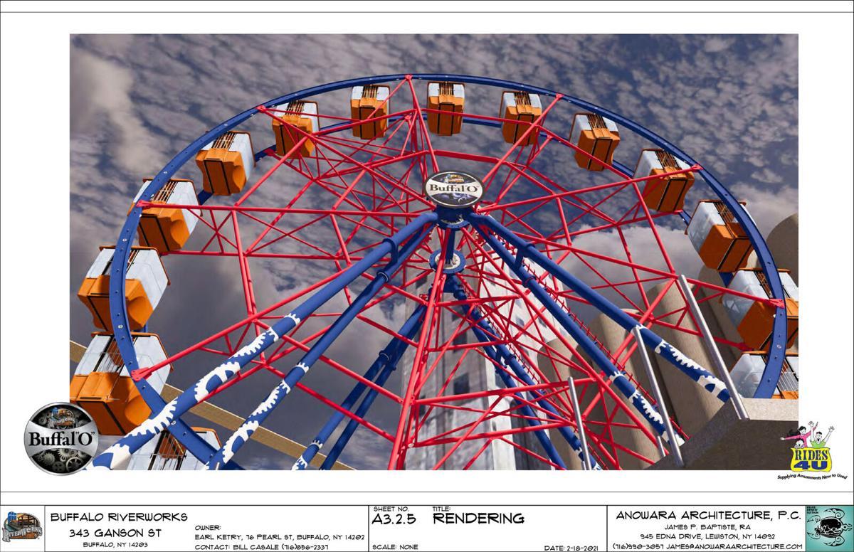 RiverWorks Ferris Wheel