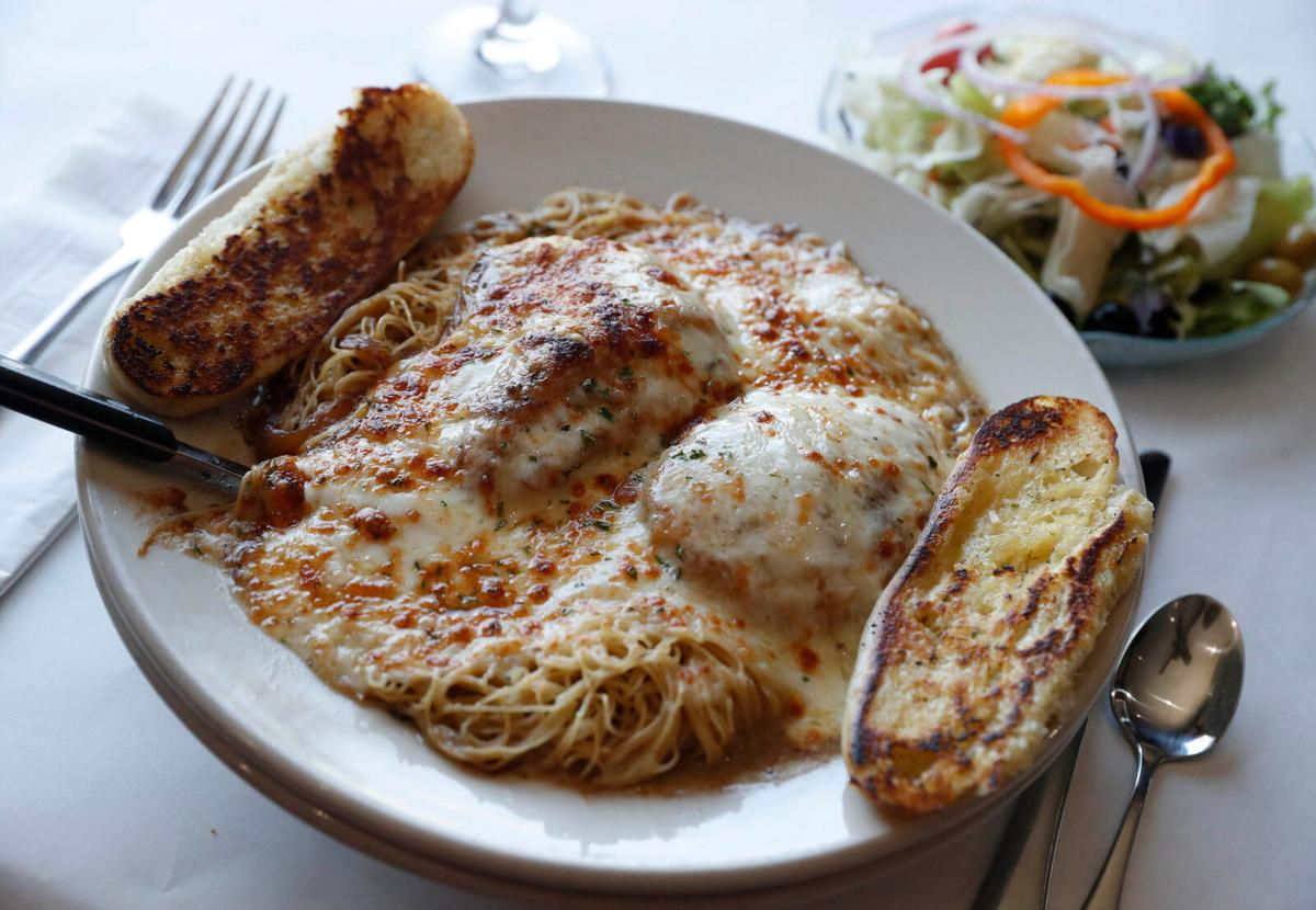 French onion chicken at Connor's Restaurant