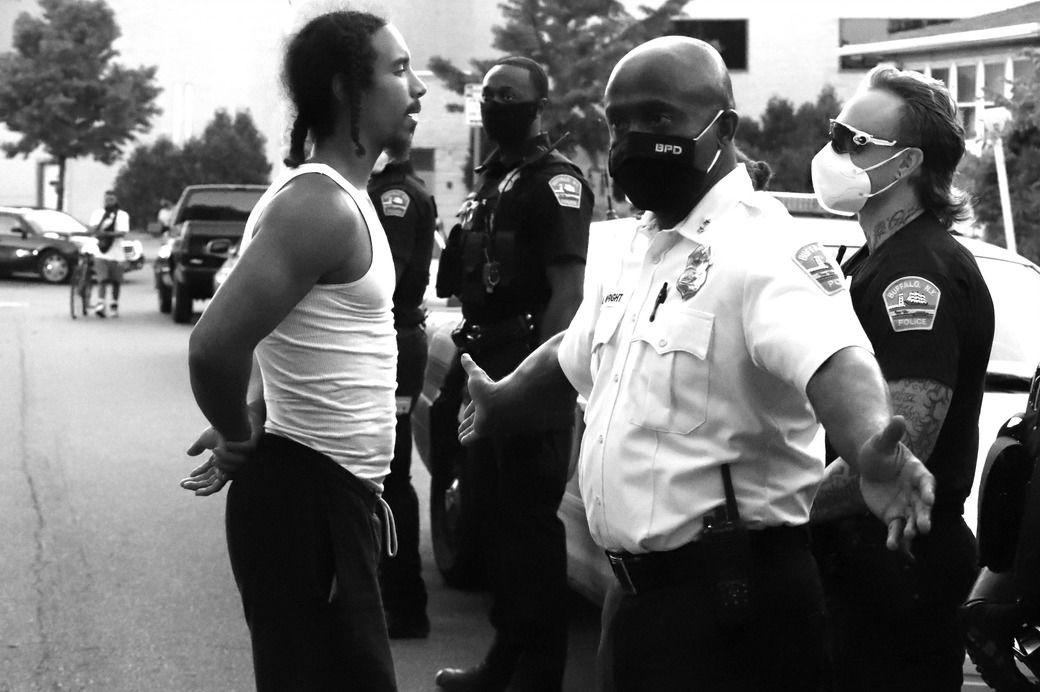 Fourth of July Black Lives Matter protest