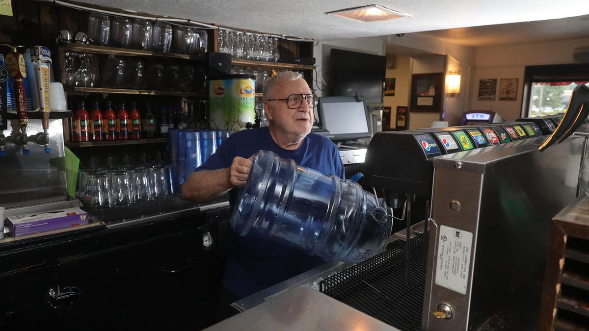 Ron Duff knows Duff's Sheridan Patio by heart