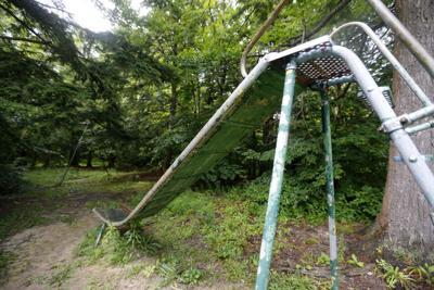 Chestnut Ridge Park playground slide
