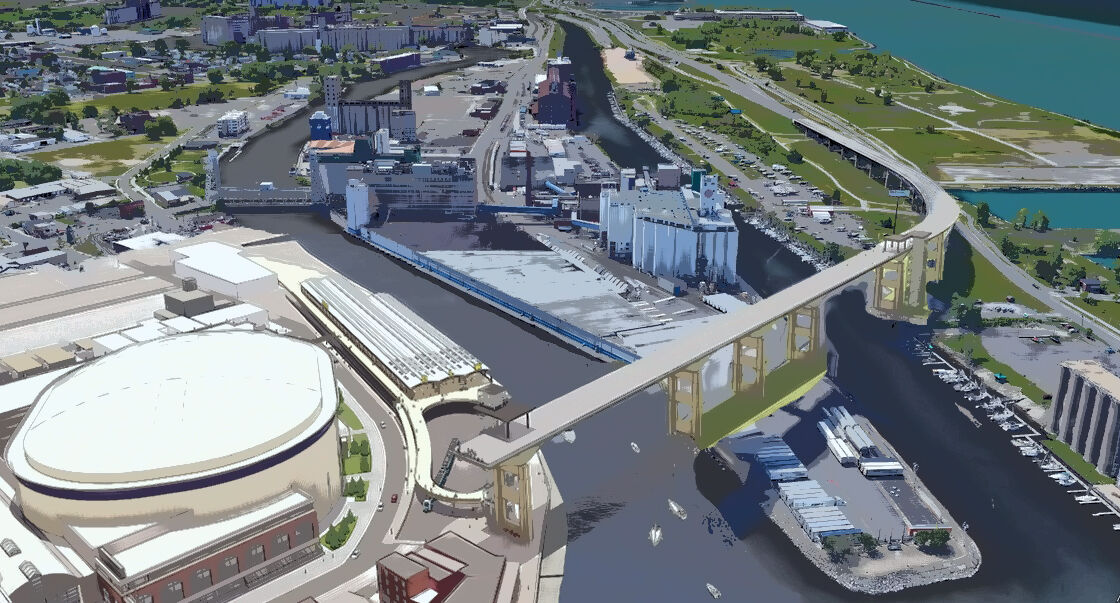 Planned Cloudwalk extends to Outer Harbor