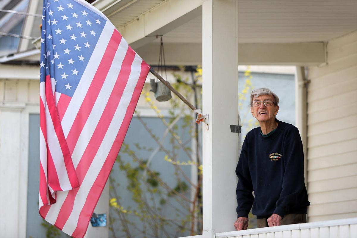 World War II Veteran Ted Balliett