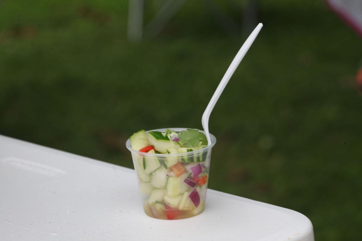 Taste of Buffalo critic choice award Cucumber Salad