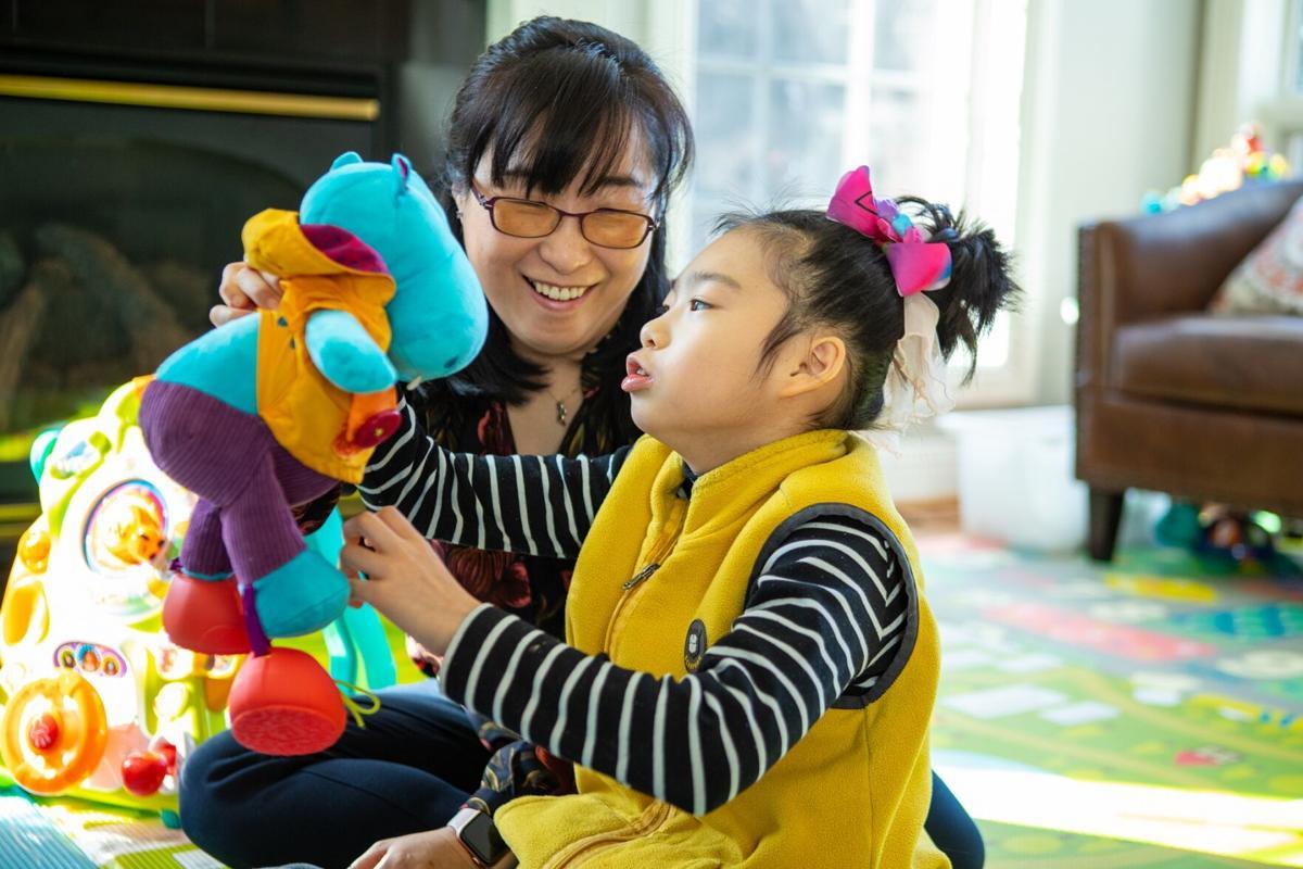 Soo-Kyung Lee and daughter Yuna