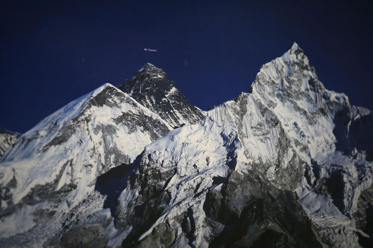 Mt. Everest photo at Taste of Nepal restaurant in Niagara Falls