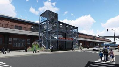 Sneak peek: See latest on plans to turn DL&W terminal into Metro Rail station
