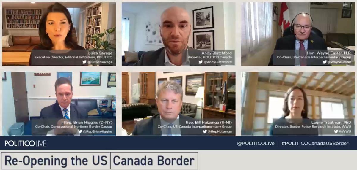 Politico border discussion