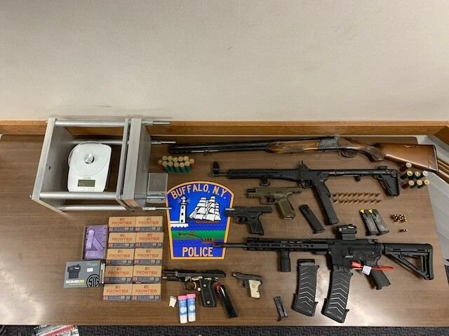 21 guns seized over last 7 days in Buffalo