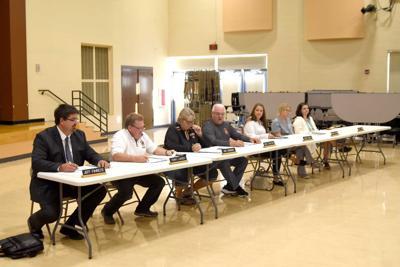 Webster Schools' very brief annual meeting