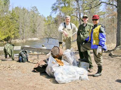 Namekagon River clean-up on September 11