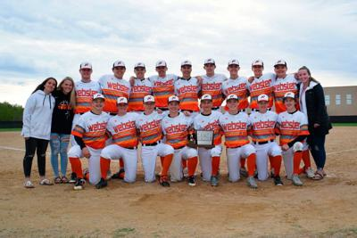 Webster baseball team crowned conference champs