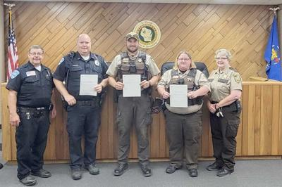 Sheriff honors law officers