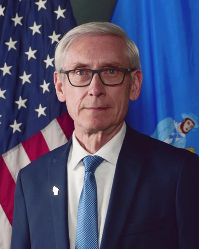 Governor Tony Evers Official Portrait