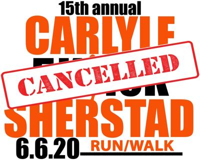 Carlyle Sherstad 5k/10k Race is cancelled