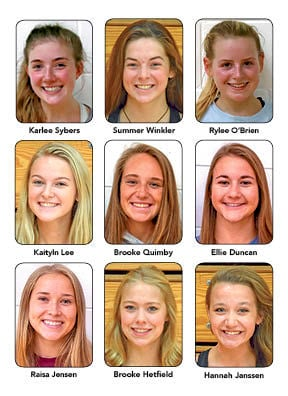 All-Conference Volleyball