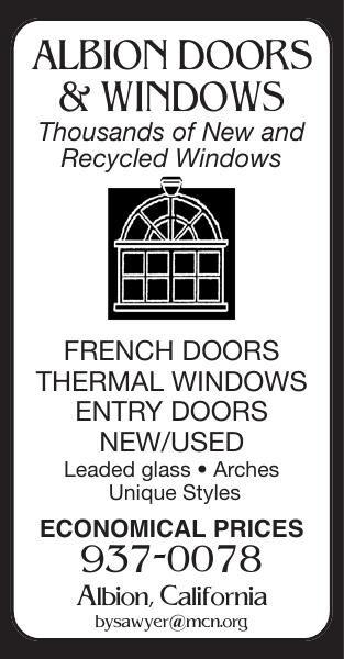 ALBION DOORS & WINDOWS Thousands of New