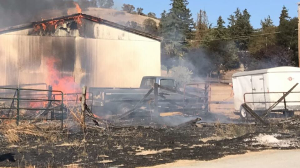 Three vegetation fires extinguished near Valley Springs in recent days