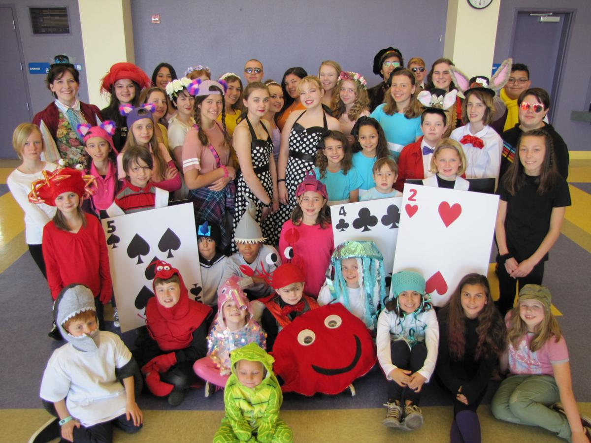 Kids Pack Alice S Wonderland With Fun Calaveras County S Most Trusted News Source Calaverasenterprise Com