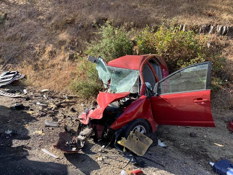 Two drivers suffer major injuries in head-on collision | Calaveras