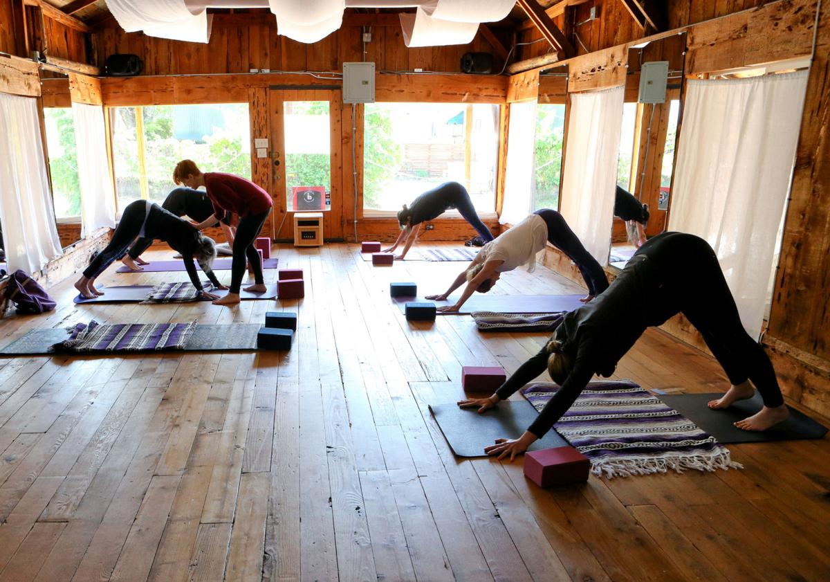 New Yoga Studio Opens In Murphys Business Calaverasenterprise Com
