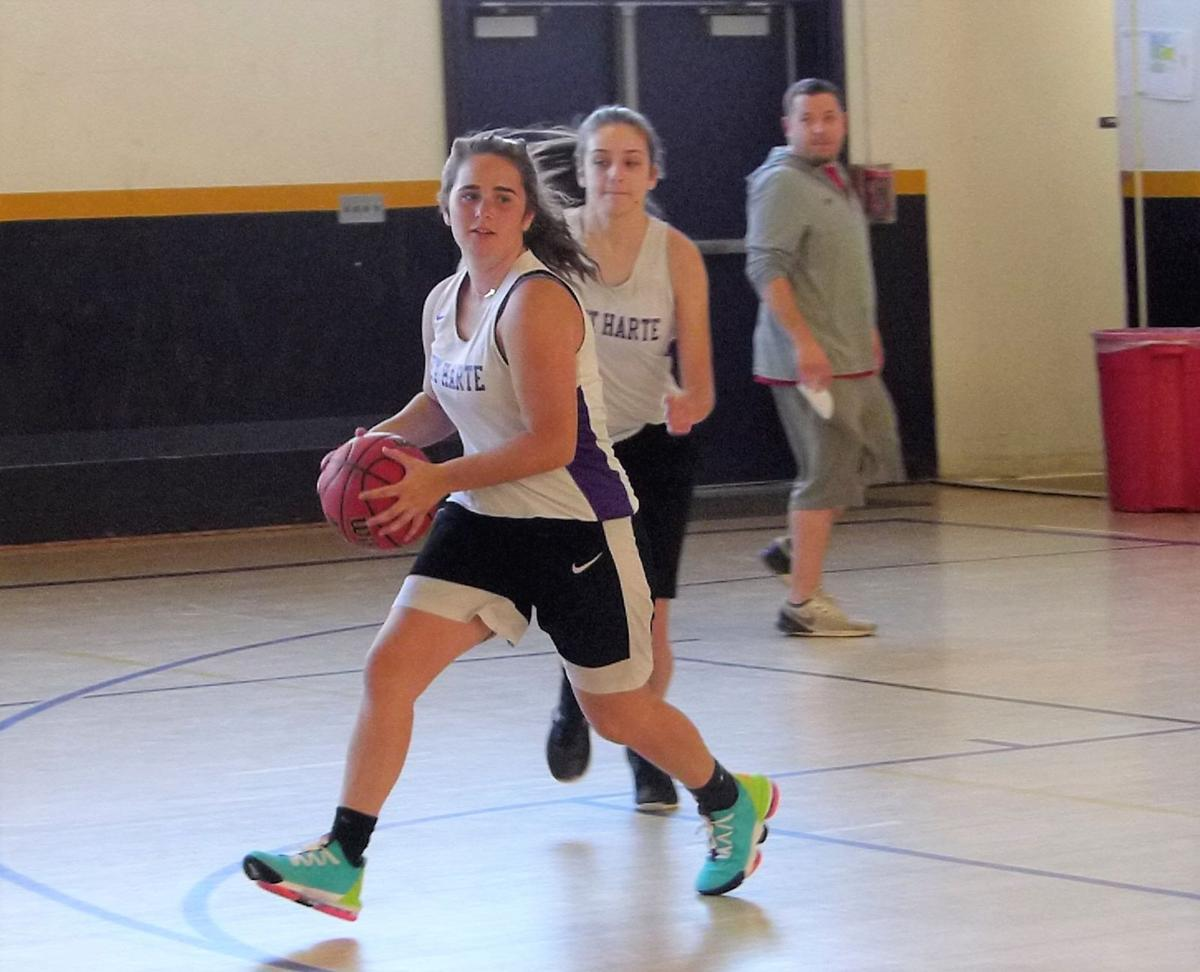 Girls' basketball training to take on upcoming season