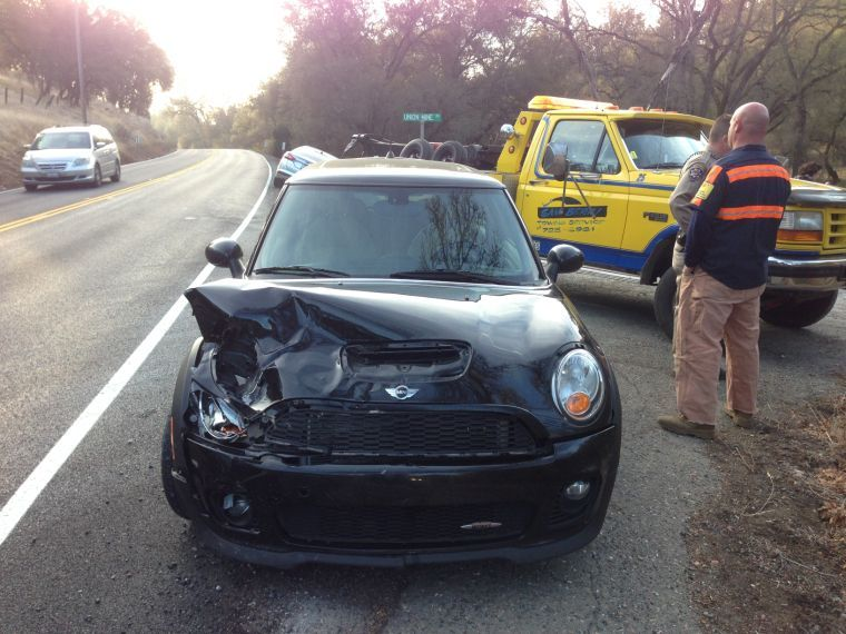 Mini Cooper On Highway 49 Calaveras County S Most Trusted News Source Calaverasenterprise