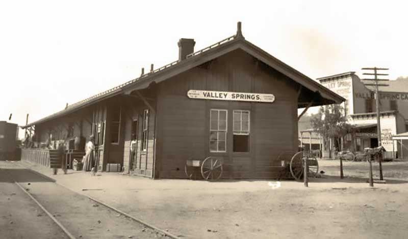 Valley Springs - Way station turned bustling town