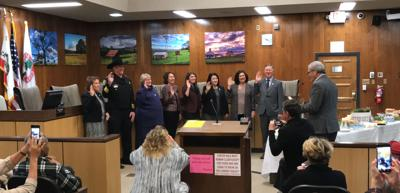 New supervisors, county official sworn into office