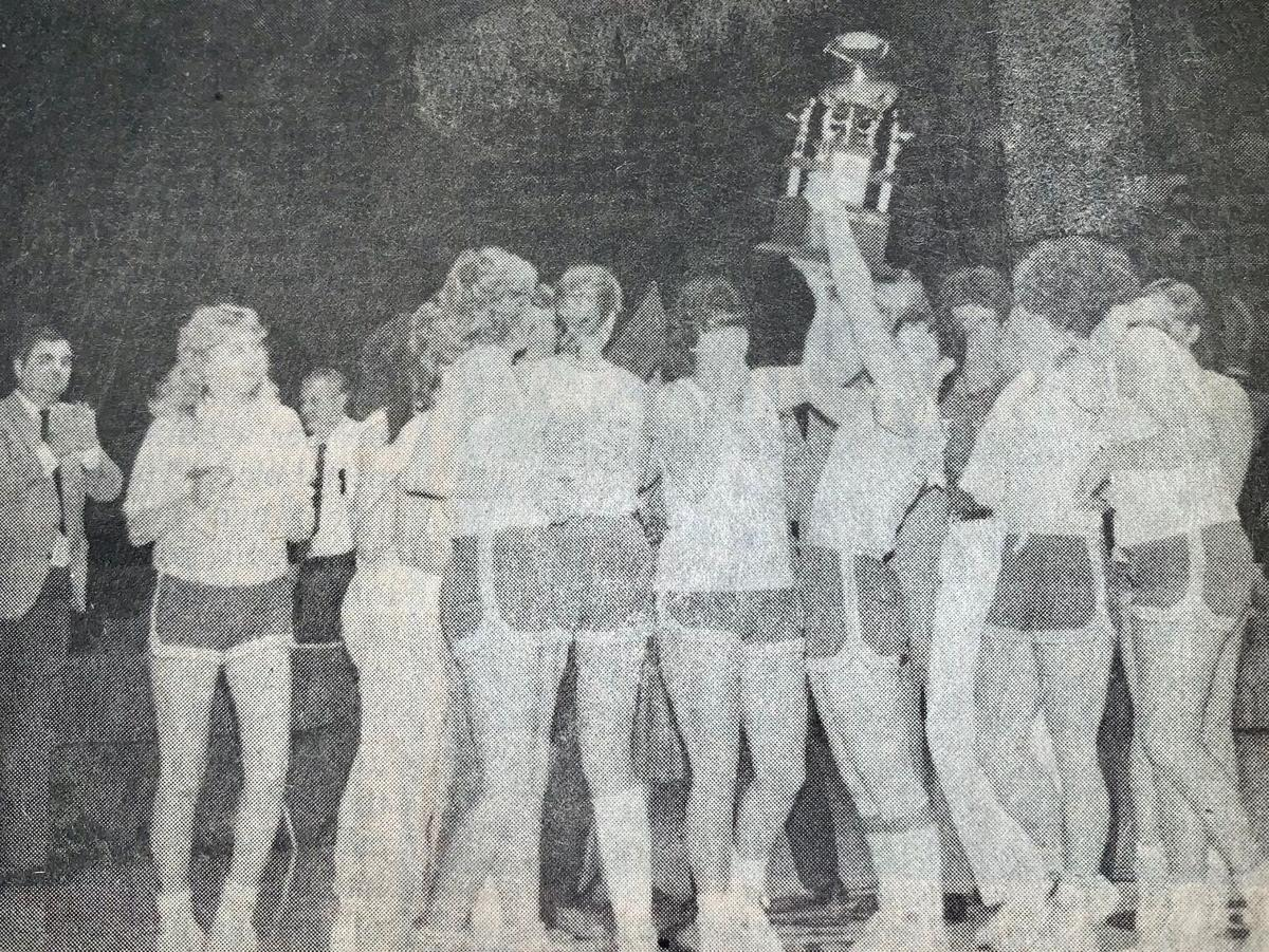 In 1986, Calaveras girls' hoopsters were best in state