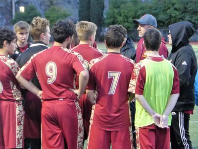 Calaveras and Argonaut play to 1-1 tie