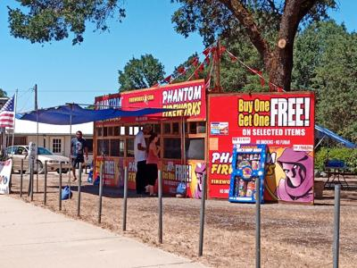 Fireworks booths open in Calaveras County