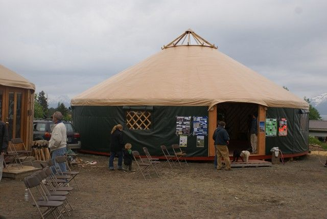 Yurt Kits Do It Yourself : Alaska firm starts campaign to supply yurts fire