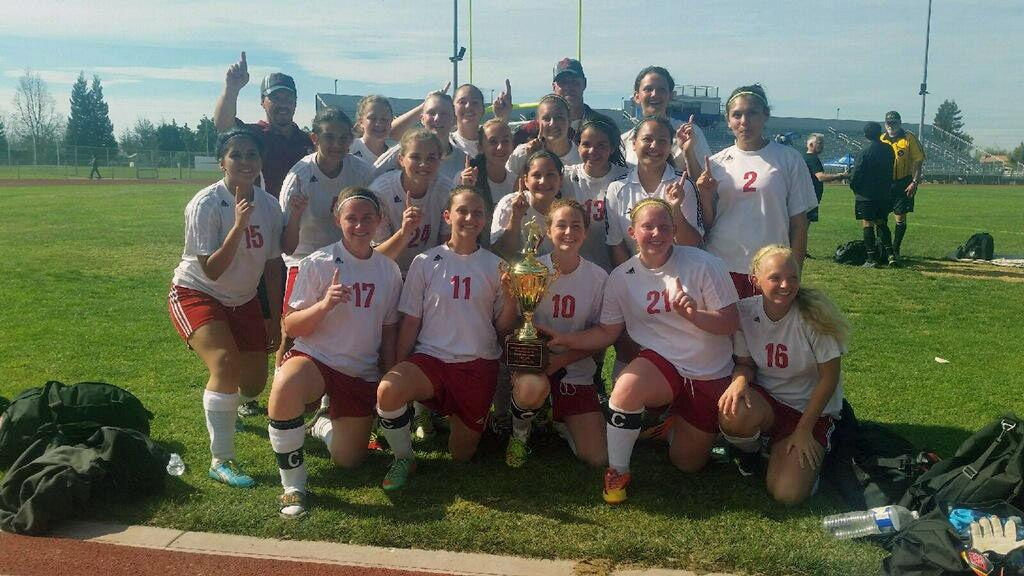 High school/youth sports roundup: Calaveras JV soccer girls win second straight tourney title