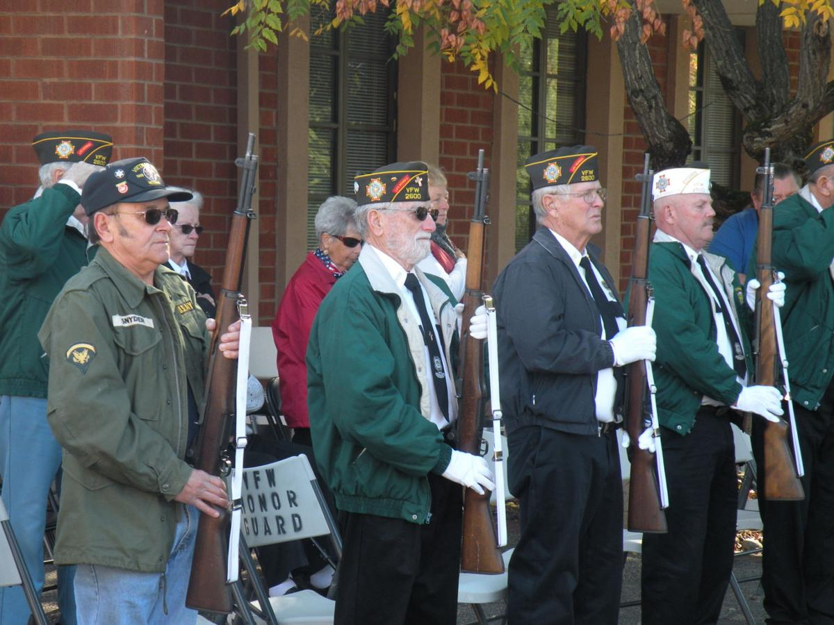 Calaveras County honors veterans