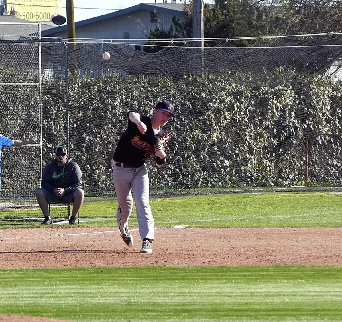 Bakke pitches well in Bret Harte loss