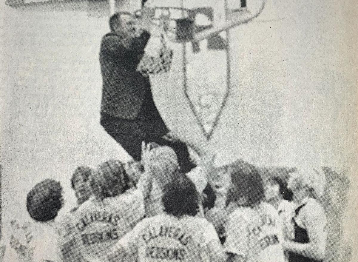 Calaveras basketball took league, section and state by storm in 1977