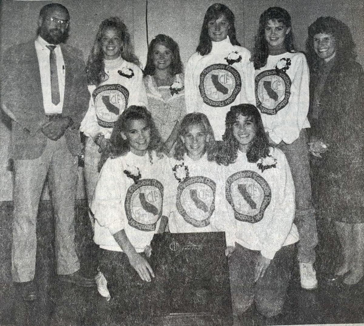 Bullfrog cross country won league, section, state titles in 1988