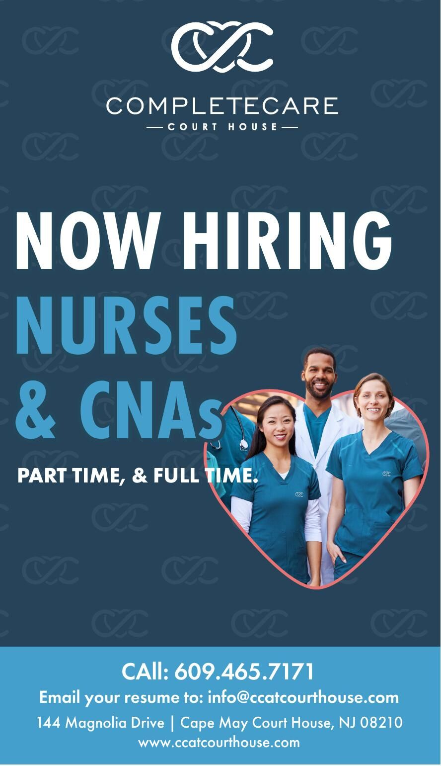CompleteCare/CMCH NOW HIRING NURSES AND CNAs