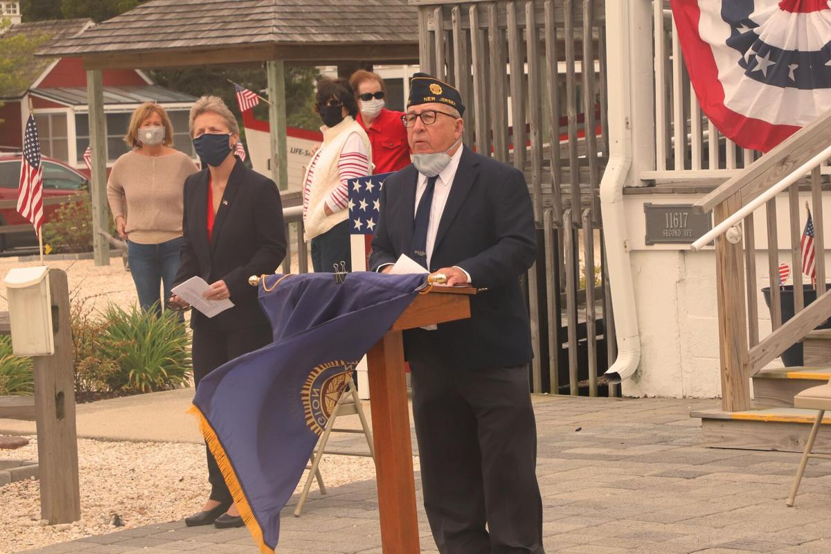 Memorial Day Remarks (L-R) Stone Harbor Mayor Judy Davies-Dunhour and Post 331 Commander Tom McCullough.jpg