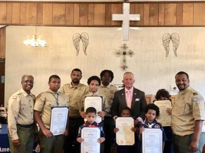 Boy Scouts, Cub Scouts from Woodbine Receive Awards | Community